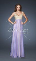 Long Wisteria Gold Sequins Cheap Low Back Prom Dress 2013