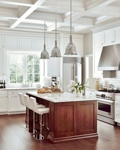 Kitchen Kitchen With White Cabinets White Beveled Subway