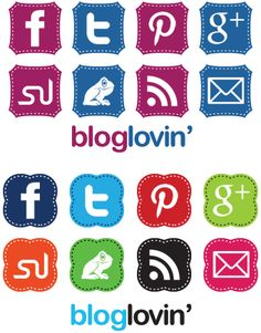 FREE and cute Social Media Icons!