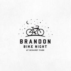 Brandon Bike Night logo. Brandon is one of several stops on the Tour de Kota bike ride in summer 2012.