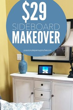 $29 Sideboard Makeover
