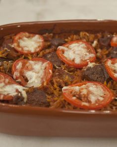"""Try this classic Greek recipe from chef Vefa Alexiadou's """"Vefa's Kitchen"""" cookbook for a warm and filling family dinner."""