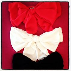 #Bandeau #bow #tops