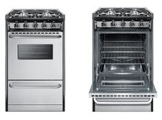Top 9 Ranges, Ovens and Cooktops for your Tiny House Kitchen