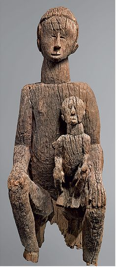 Warriors and Mothers: Centuries-old sculptures created by Mbembe master carvers from southeastern Nigeria displayed at New York's Metropolitan Museum of Art.