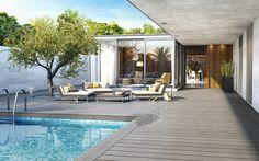 Propozycja TERASO - basen z wykorzystaniem naszych desek tarasowych - IDEAŁ!