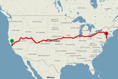 The most romantic way to journey from California to New York might also be the cheapest.