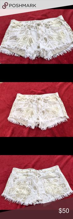 Free people fringed shorts Preowned great condition free people fringed shorts Free People Shorts