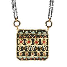 Michal Golan :: SHOP BY COLLECTION :: Earth Garden Square Necklace