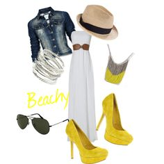 Beachy-Casual, created by rssoftball on Polyvore