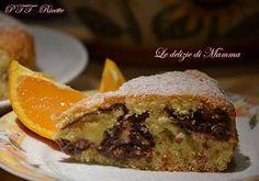 Torta all'arancia con ricotta al cioccolato | Ricetta