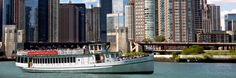 Photo of the Chicago Architecture Foundation River Cruise aboard Chicago's First Lady. Voted the #1 tour in Chicago!