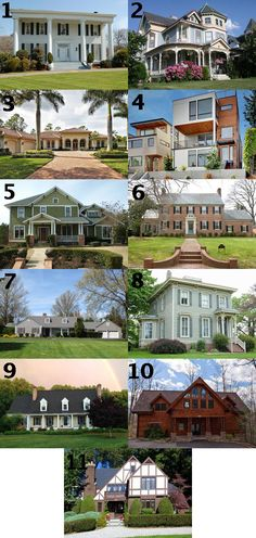Cast Your Vote! Which House Would You Most Want to Live In? (http://blog.hgtv.com/design/2013/05/20/cast-your-vote-which-house-would-you-most-want-to-live-in/?soc=pinterest)