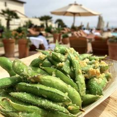 sea salt and garlic edamame recipe