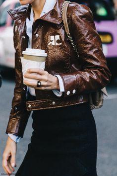 Die 44 besten Bilder von Lederjacken | Leder, Lederjacke und