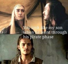 Lee Pace, Luke Evans, Orlando Bloom :: Thranduil, Bard, Will Turner