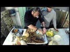 Moules et filet de bar mariné aux algues dans la Hom'Art de Benoit Neusy - YouTube