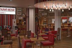 Dining Street Restaurant, Heathrow airport terminal 4. Excellent Chicken Tikka Masala ;)