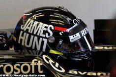 GP de Monaco 2012, essais libres : Raikkonen wears James Hunt-style helmet in Monaco #F1 #Formula1 #GPMonaco #Raikkonen