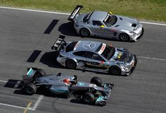 Triple Threat. #F1 #DTM #GT3
