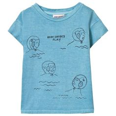 Bobo Choses Waterpolo T-Shirt Turquoise Blue