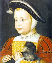 Henry II of France as a child. He was betrothed to Mary I somewhere around 1524 or 1525 (him being around age 5/6 and Mary being around 8/9) in a marriage treaty stating that she was to marry either Henri or his father, Francis I. Wolsey was instead  able to secure an alliance with France despite the marriage treaty, so Mary did not have to marry either.