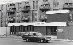 The Sir Henry Royce on Chichester Road in Hulme just after opening in 1970