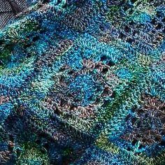 Crochet Blanket + Free Pattern + Diagram