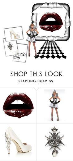 """""""Not ALL B & W"""" by amberalew101 ❤ liked on Polyvore featuring Andy Warhol, HARRIET WILDE, Alexander McQueen and Pier 1 Imports"""