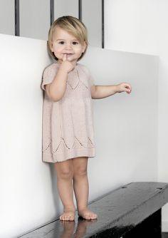 sandness kjole barn silk