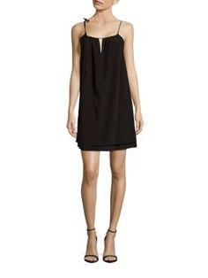RAG & BONE Samantha Solid Silk Dress. #ragbone #cloth #dress