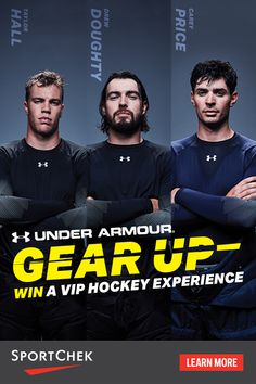 Under Armour Kids' Next Collection Under Armour Kids, Under Armour Shoes, Hockey Baby, Hairstyles With Glasses, Nhl Games, Win A Trip, Blue Gown, Work Wardrobe, Sport Fashion