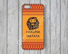 Disney iPhone 5 case iPhone 5s case Hakuna Matata by CaseCabinet, $6.99