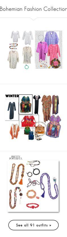 """""""Bohemian Fashion Collection"""" by era-chandok ❤ liked on Polyvore featuring Oris, Mala, meditationmala, japamala, malabeads, gift, sale, longdress, offer and dress"""