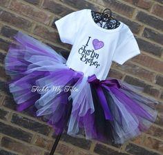 I Love Justin Bieber Tutu Outfit