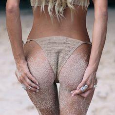 Bikini Bodies, Summer Beach, Crochet Bikini, Bikinis, Swimwear, Thong Bikini, Abs, Sexy, Collection