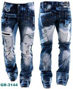 2ea2e4ec3d JEANS Uomo Pantaloni jeans PANTS PANTALON JAPRAG Kosmo Lupo Cipo Baxx   MensFashionStyle