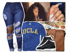 """""""💛"""" by theylovinniaaa ❤ liked on Polyvore featuring NIKE"""