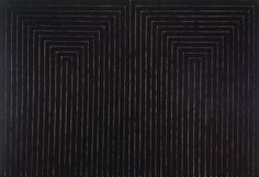 Frank Stella, The Marriage of Reason and Squalor II (1959)