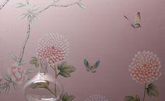 Misha hand-painted silk wallpapers on flodeau.com 9