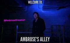 Dean Ambrose- welcome to ambrose's alley