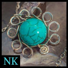 Unique Handcrafted Jewelry by NKCollections Handcrafted Jewelry, Turquoise Necklace, Etsy Seller, Creative, Handmade Chain Jewelry, Handmade Jewelry, Handmade Jewellery