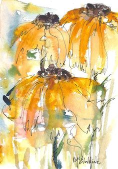 watercolor paintings of sunflowers | Designs WIKI - All About Designs www.designswiki.com