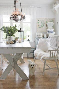Shabby Chic Home Decor Shabby Chic Theme, Shabby Chic Kitchen, Hygge, Vibeke Design, Estilo Shabby Chic, Dere, Chic Bathrooms, Shabby Chic Furniture, Vintage Home Decor