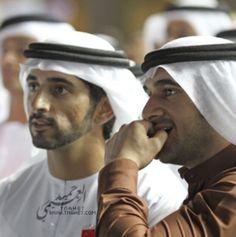 Hamdan and Rashid bin Mohammed bin Rashid Al Maktoum, DWC, 2012. Photo: tnahet.