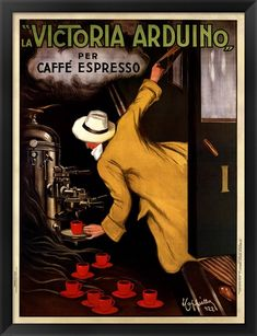 'La Victoria Arduino Caffe Expresso Italy - Advertising / Coffee Vintage Poster' Poster by Igor Drondin Nrf24l01 Arduino, Arduino Programming, Arduino Bluetooth, Arduino Board, Italian Cafe, Best Espresso Machine, Vintage Restaurant, Canvas Artwork, Artist Canvas