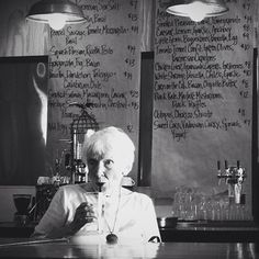 You don't have to be young to enjoy the cool places: #Granny hanging out at @IndustrialEats in #Buellton, #California.