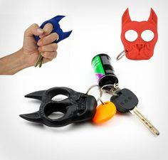 French Bulldog Self Defense Keychain