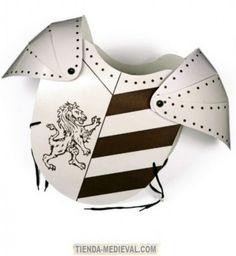 Armaduras medievales para niños
