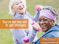 "People often associate aging with physical decline, and indeed, ""on average, the strength of people in their 80s is about 40% less than that of people in their 20s."" But research suggests that improvements in physical function are possible well into older adulthood."